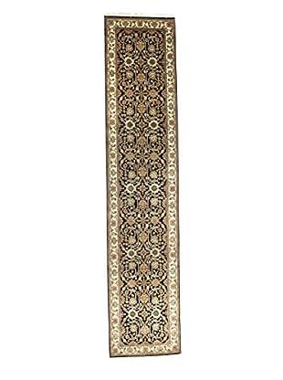 Bashian Rugs Hand-Knotted Agra Rug, Black, 2' 7