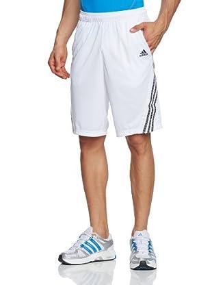 Adidas Pantalón corto Response (Blanco / Negro)