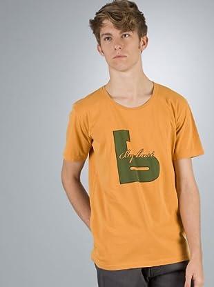 By Basi Camiseta Básica (naranja)