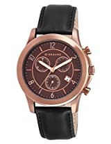 Giordano Chronograph Brown Dial Men's Watch - GX1628-05