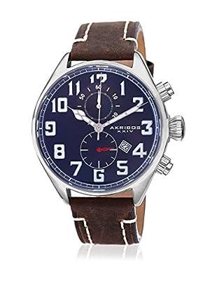 Akribos XXIV Reloj con movimiento cuarzo suizo Man AK706BU Blue