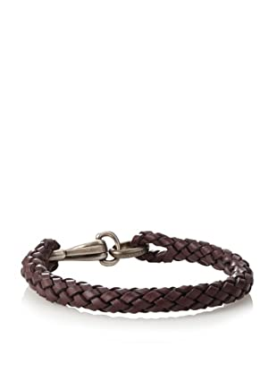 Gucci Braided Leather Bracelet