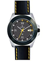 Maxima Attivo Analog Black Dial Men's Watch - 23711LMGT