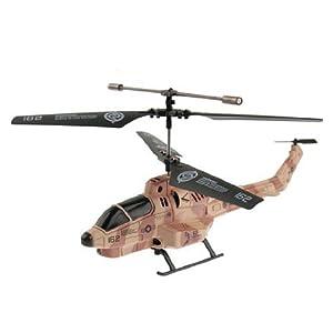 iPhoneで操縦する赤外線ヘリコプター「Cobra iHelicopter」ミサイルも撃てる!