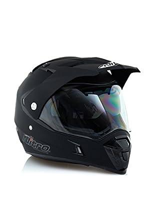 Nitro Casco MX 650 (Negro)