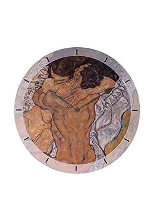 Artopweb Reloj De Pared Schiele Umarmung