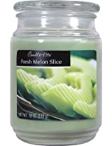 Candle-lite Essentials 18-Ounce Fresh Melon Slice Terrace Jar Candle