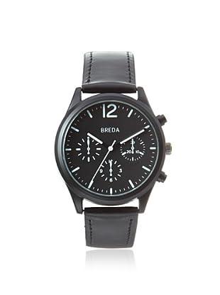 Breda Men's 2369 James Pilot Black Alloy Watch