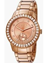 Esprit ES-Seren Rose Gold Women Watch - ES107422003
