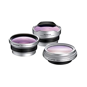 Olympus 3CON-P01 Lens Converter Kit (Macro, Wide and Fisheye)