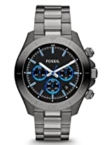 Fossil Retro Traveler Chronograph Black Dial Men's Watch - CH2869