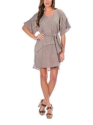 100% lino Vestido Yasmine