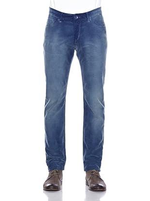Cross Jeans Cordhose Quentin (Blau)