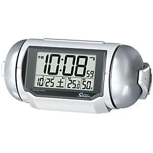 PYXIS (ピクシス) 目覚まし時計 スーパーライデン デジタル 電波時計 大音量 NR523W