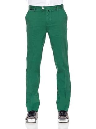 Pedro del Hierro Pantalón Pima Cotton Prosper (Verde)