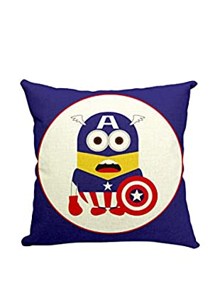 LO+DEMODA Kissenbezug Minion Captain America