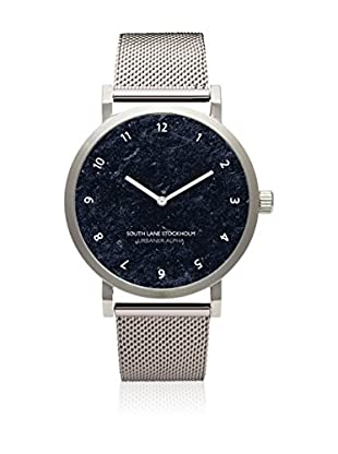 South Lane Reloj de cuarzo Unisex Urbaner Alpha Silver Steel 40 mm