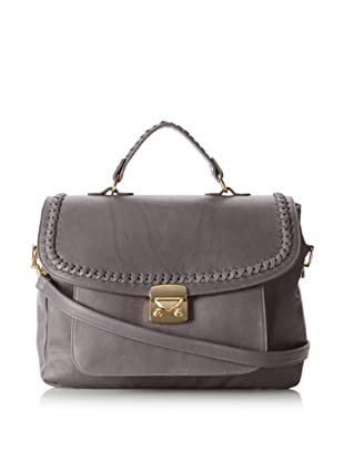 B-Low the Belt Women's Elle Satchel, Grey