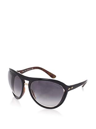 Tom Ford Women's Milo TF73 Sunglasses (Black/Tortoise)