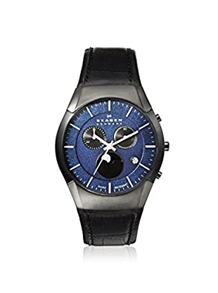 Skagen Men's 901XLMLN Black Label Blue Dial Watch