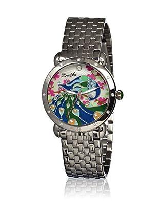 Bertha Uhr mit Japanischem Quarzuhrwerk Didi silberfarben 41 mm