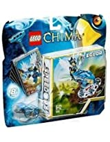 Game / Play LEGO Chima Nest Dive (70105) Includes Eglor minifigure with 2 weapons Launch into the nest Toy / Child / Kid