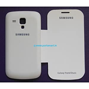 Flip Cover for Samsung Galaxy S Duos 2 S7582