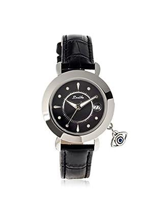 Bertha Women's BTHBR5302 Iris Black Leather Watch