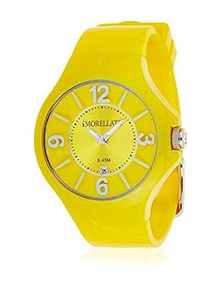 Morellato Reloj de cuarzo Unisex Colours Amarillo 42 mm