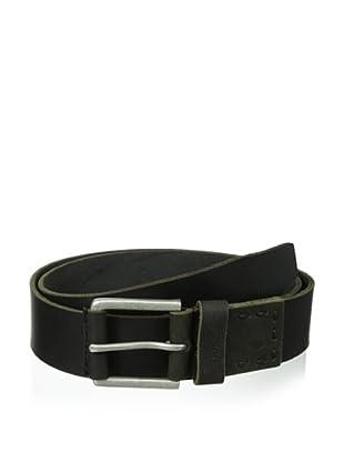 Timberland Men's Pull Up Jean Belt (Black)