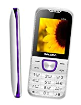 Salora KC11 Free Watch Aluma Wallet White Purple
