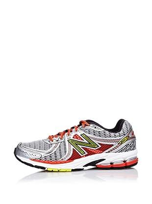 New Balance Zapatillas Running 860 (Plata / Naranja)