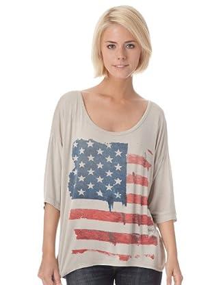 Bleifrei Camiseta Print (Beige)