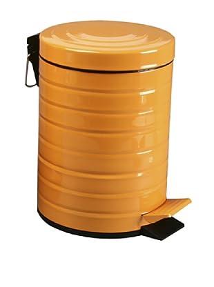 Zings Cubo Con Pedal Naranja 5 L