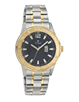 Titan 9385BM04 Wrist Watch - For Men