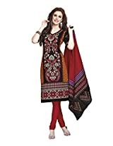Suhanee Womens Cotton Unstitched Dress Material (Suhanee`S Exclusive Shivanee 1117 _Multi-Coloured)