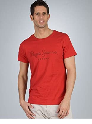 Pepe Jeans T-Shirt New Davide (Rot)
