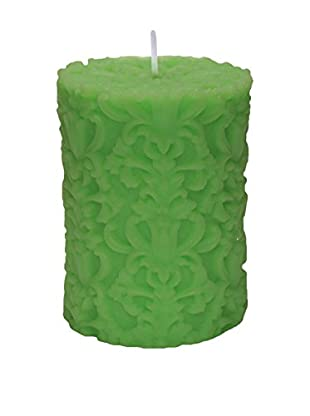 Volcanica Paramount Small Pillar Candle, Lime