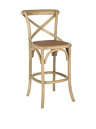 Safavieh Franklin Bar Stool, Weathered Oak