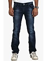 Blue Low Rise Slim Fit Jeans Police