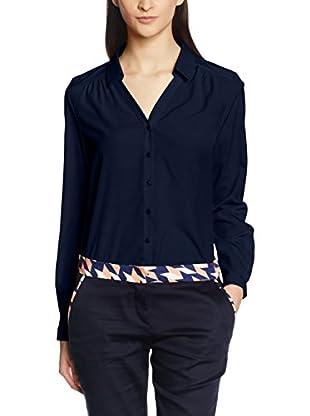 Nife Camisa Mujer Azul Marino M (EU 38)