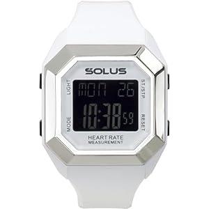 ソーラス SOLUS 腕時計 心拍計測機能付 Leisure 840 レジャー 840 ホワイト 01-840-02 ユニセックス