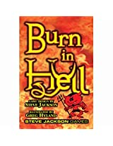 Steve Jackson Games Sjg1420 Burn In Hell Box Game 2 Nd Printing