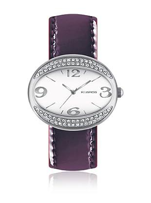 K&Bros  Reloj 9156 (Ciruela)