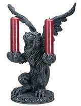 Lion Gargoyle Votive / Candle Holder - Collectible Gothic Candleholder