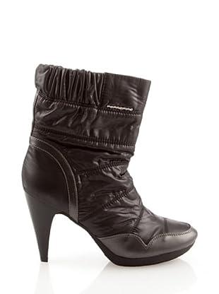 Fornarina PIFGS7607WV00 - Botas de nailon para mujer (Negro)