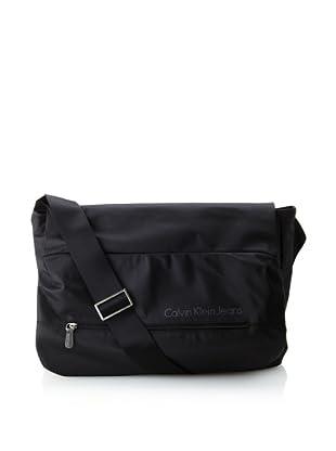 Calvin Klein Men's Messenger Bag (Black)