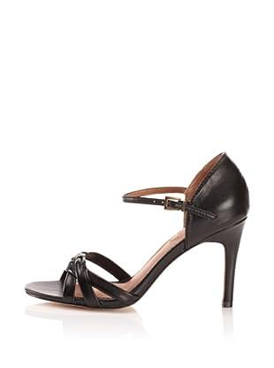 Corso Como Women's Design Ankle-Strap Sandal (Black)