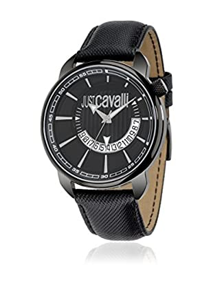 Just Cavalli Reloj de cuarzo Man Earth Negro 52x45 mm