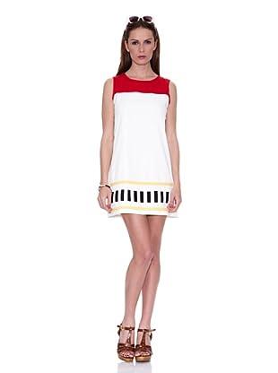 HHG Vestido Kim (Blanco / Rojo)